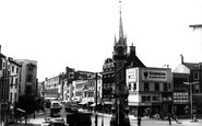 Leicester, Clock Tower c.1965