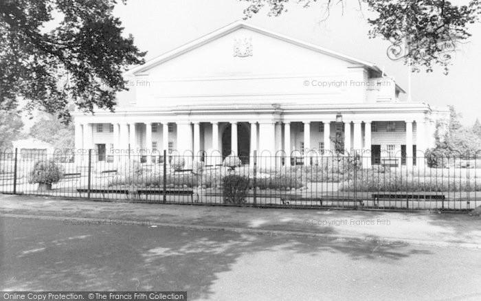 Photo of Leicester, De Montfort Hall c.1965