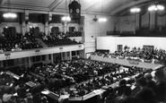 Leicester, De Montfort Hall, Regent Road c1965