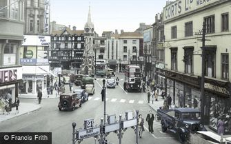 Leicester, Eastgates 1949