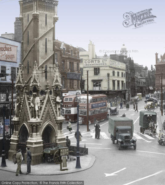 Photo of Leicester, Eastgates 1949