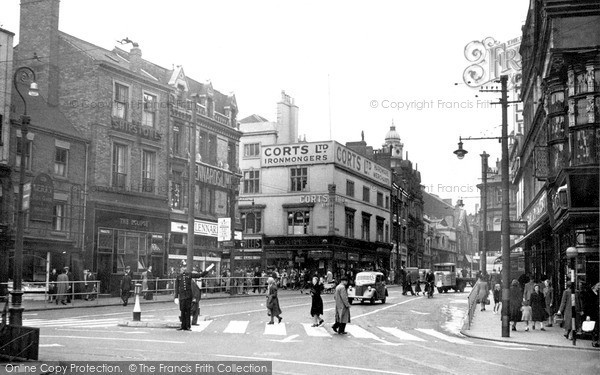 Photo of Leicester, Eastgates c.1949