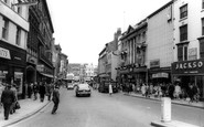 Leicester, Gallowtree Gate Towards Clock Tower c.1965