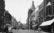Leicester, Granby Street 1949