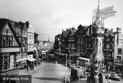 Haymarket And Clock Tower c.1965, Leicester