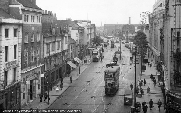 Photo of Leicester, Humberstone Gate 1949