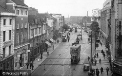 Leicester, Humberstone Gate 1949