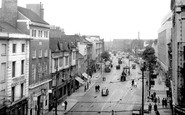 Leicester, Humberstone Gate c.1955