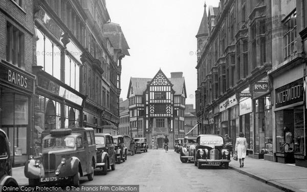 Leicester, Market Street 1949