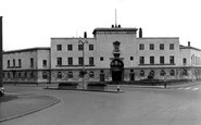 Leicester, Police Station, Charles Street c1955