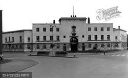 Police Station, Charles Street c.1955, Leicester