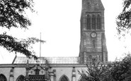 Leicester, St Martin's Cathedral c.1955