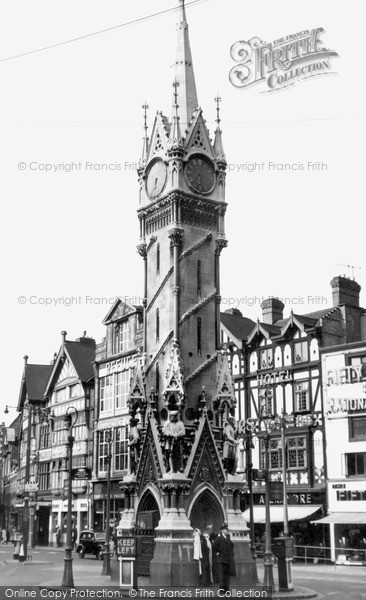 Photo of Leicester, the Clock Tower c1955, ref. L144075