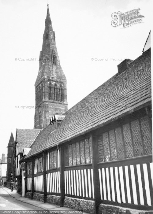 Photo of Leicester, The Guildhall And St Martin's Cathedral c.1955
