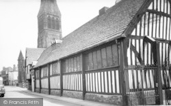 Leicester, The Guildhall c.1955