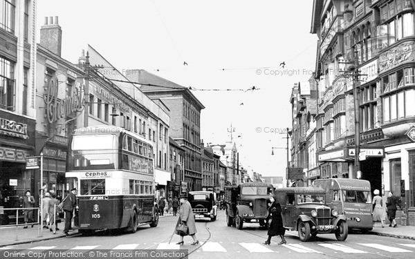 Photo of Leicester, The Haymarket 1949