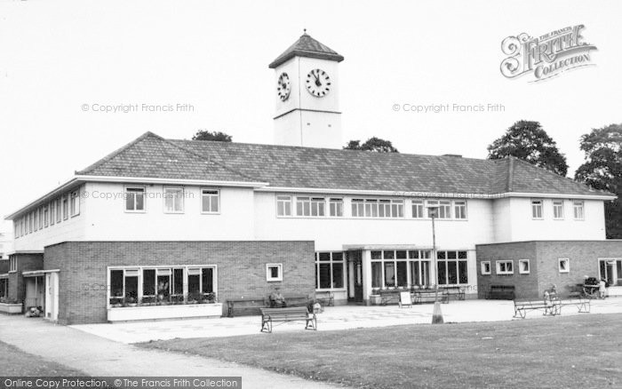 Photo of Leicester, The Pavilion c.1955