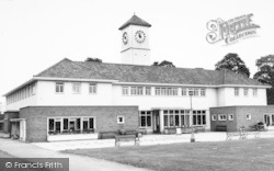 Leicester, The Pavilion c.1955