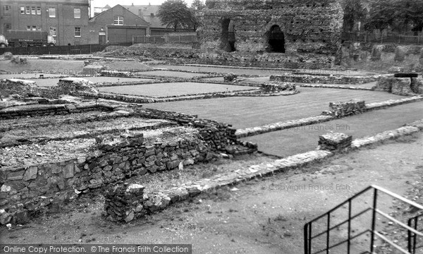 Photo of Leicester, The Roman Remains c.1955