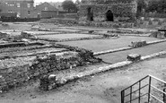 Leicester, The Roman Remains c.1955