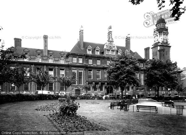 Photo of Leicester, The Town Hall c.1955