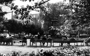 Leicester, Town Hall Gardens c.1965