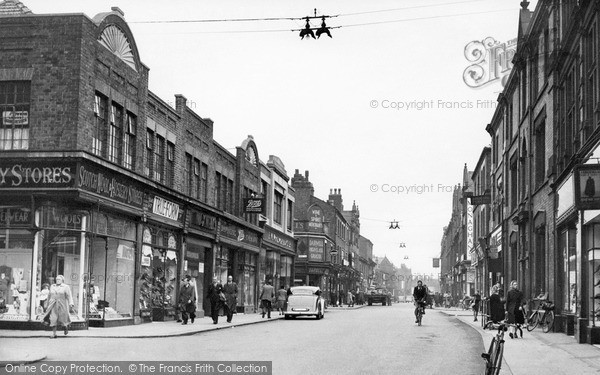 Photo of Leigh, Bradshawgate c.1950