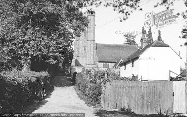 Photo of Leigh, Church Hill c.1960
