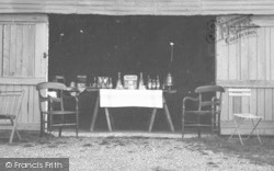 Leigh Green, A Drinks Stall c.1960