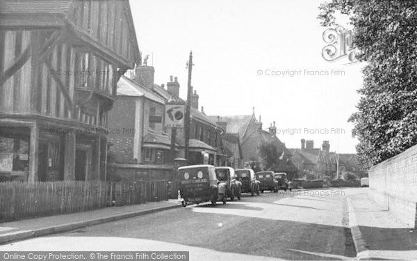 Photo of Leigh, High Street c.1955