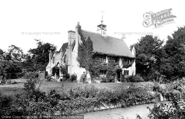 Photo of Leigh, Leigh Hall 1906