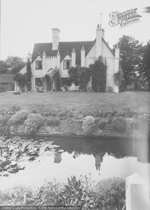 Photo of Leigh, Leigh Place And Moat c.1955