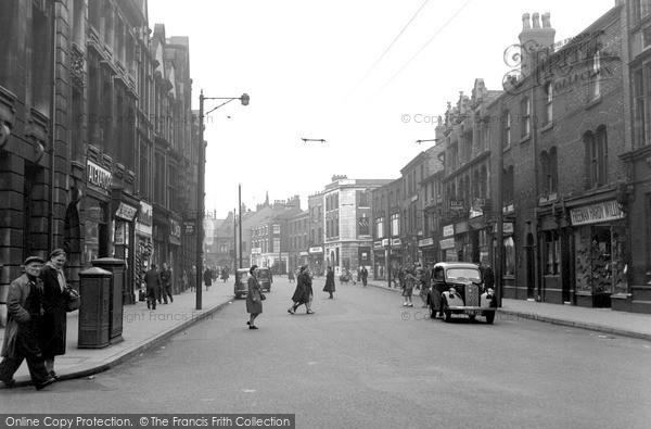 Photo of Leigh, Market Street c.1950