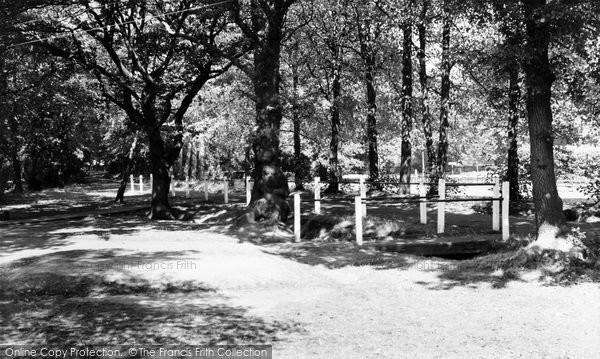 Photo of Leigh On Sea, Belfairs Park c.1955