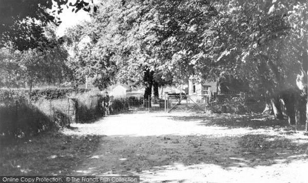 Photo of Leigh On Sea, Belfairs Park c.1960