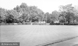 Bowling Green, Belfriars Park c.1960, Leigh-on-Sea