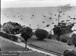 Cliff Gardens c.1955, Leigh-on-Sea