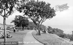 Leigh-on-Sea, Cliff Gardens c.1955