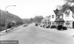 Eastwood Road North c.1960, Leigh-on-Sea