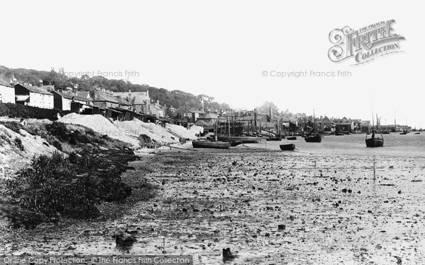 Photo of Leigh On Sea, From The West 1891