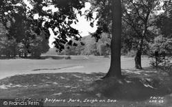 Leigh-on-Sea, Golf Links, Belfairs Park c.1960