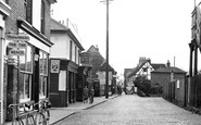 Leigh-on-Sea, High Street c1950