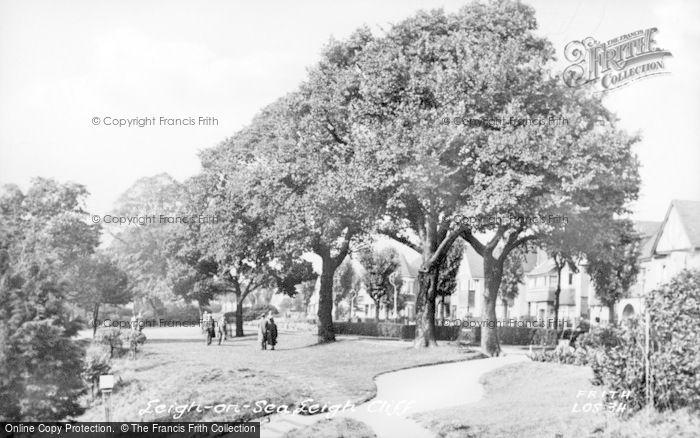 Photo of Leigh On Sea, Leigh Gardens c.1955