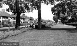 Leigh-on-Sea, Marine Parade Gardens c.1950