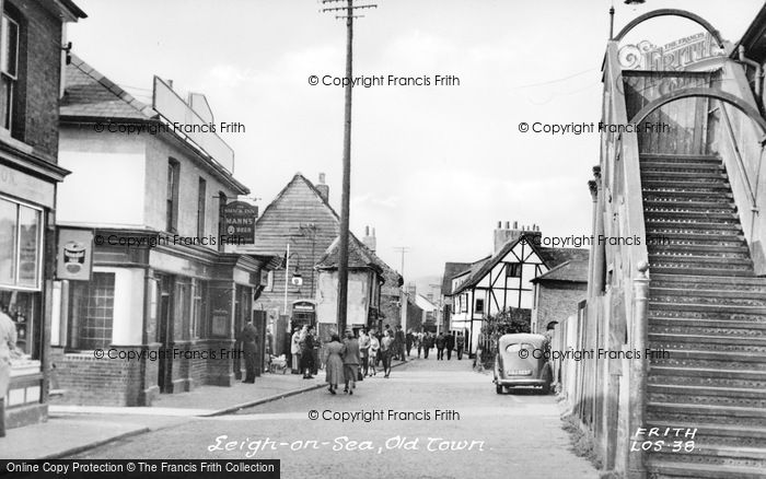 Photo of Leigh On Sea, Old Town c.1955
