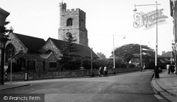 St Clement's Church c.1955, Leigh-on-Sea
