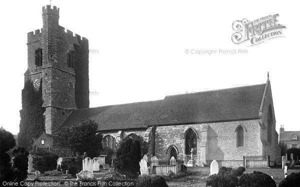 Photo of Leigh On Sea, St Clement's Parish Church 1891
