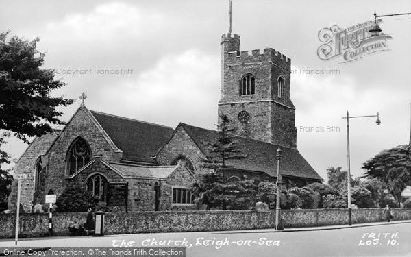 Photo of Leigh On Sea, The Church c.1950