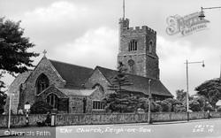 Leigh-on-Sea, The Church c.1950