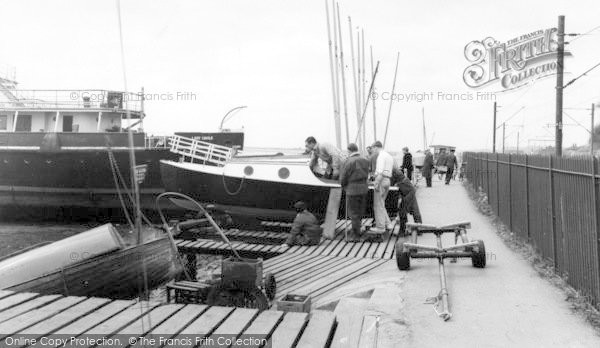 Photo of Leigh On Sea, The Yacht Station c.1965